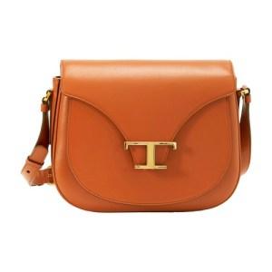 Leather crossbody mini bag