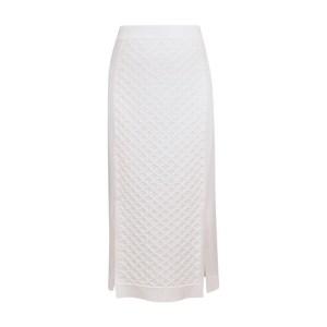 Real midi skirt