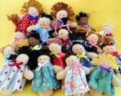 Mini Dolls Pocket Pals Tiny Friends - Toys by Joelle's Dolls - JoellesDolls