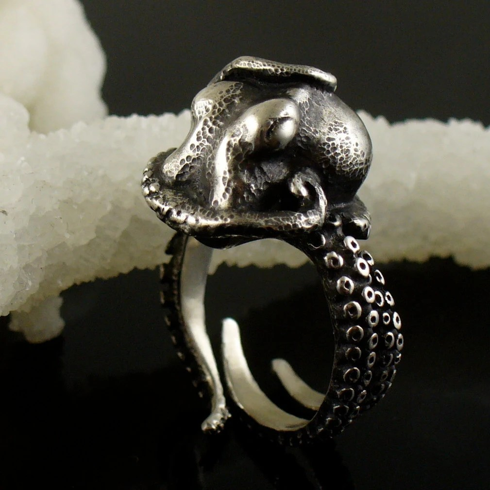 SALE - Kraken Octopus Ring OctopusME Miyu Decay Collaboration