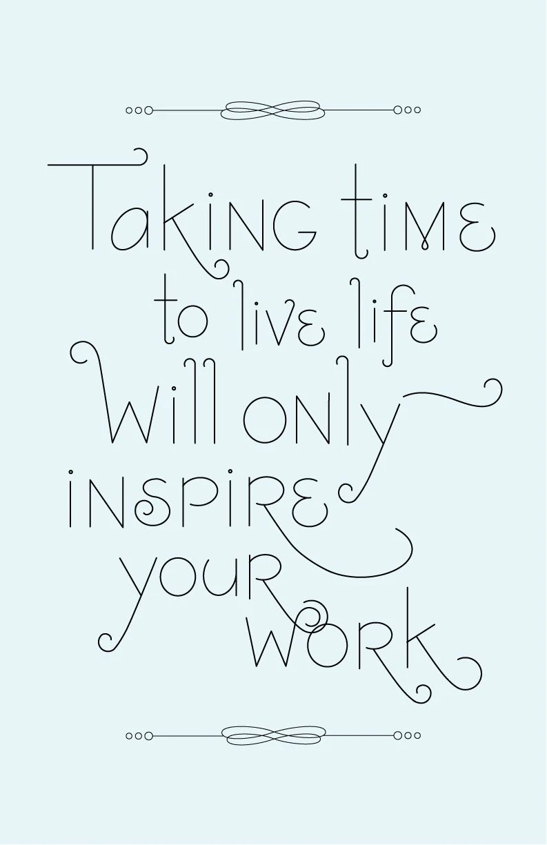 Inspire Your Work Poster