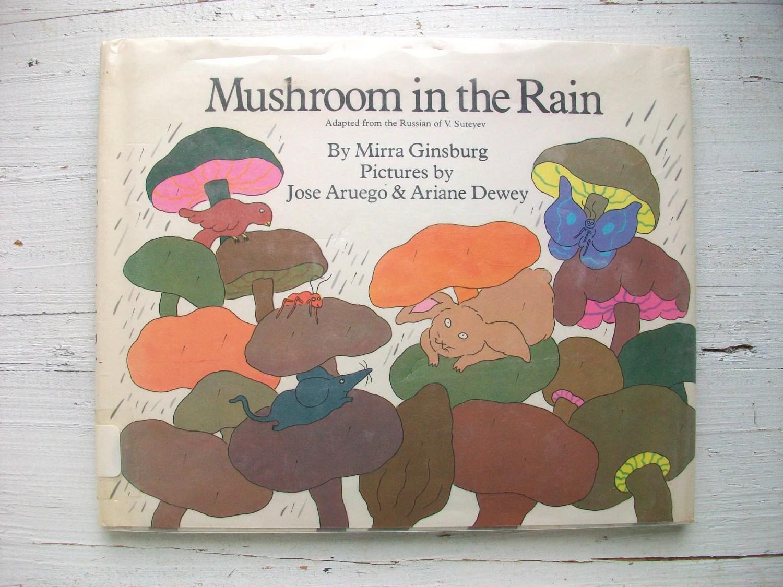 Vintage S Children S Book Mushroom In The Rain