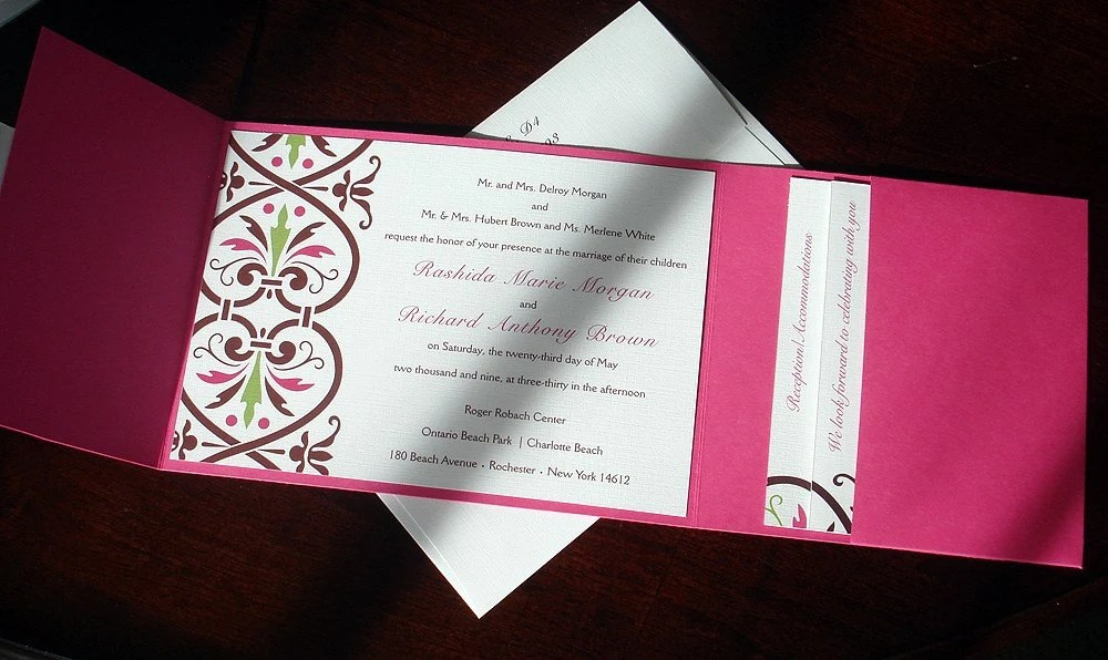 Baby Christening Invitation Card