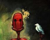 Melancholibot - Open Edition fine art print - bohemianchaos