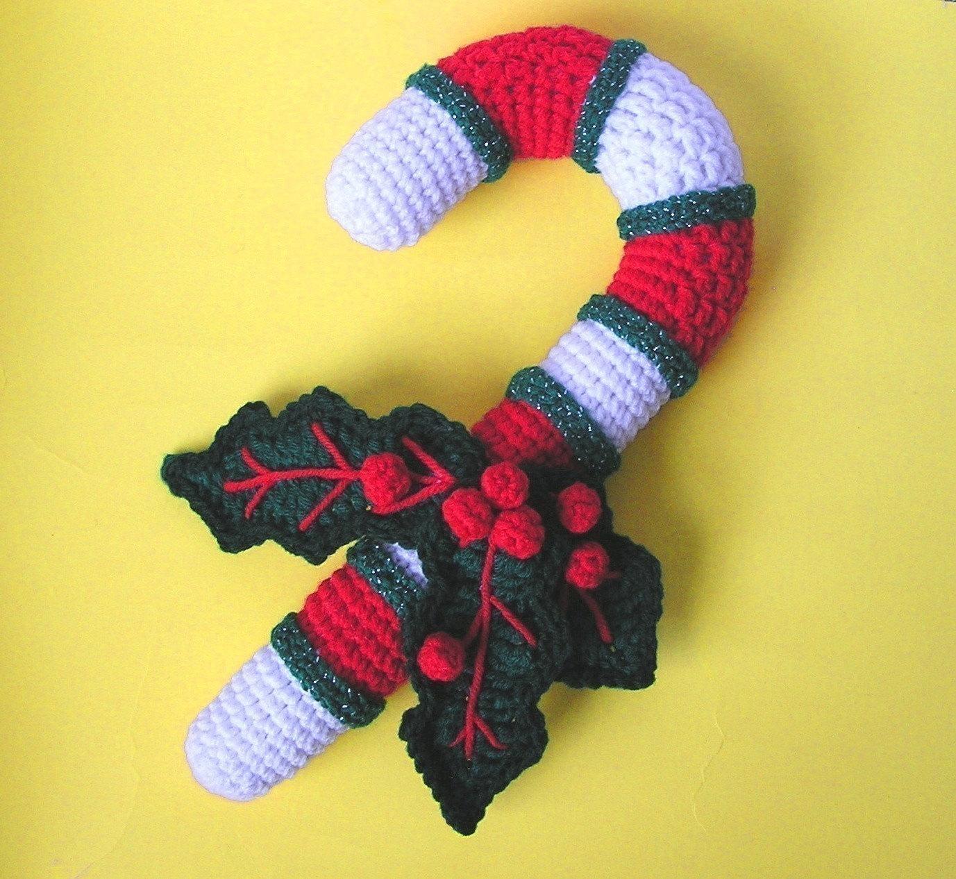 Crochet Pattern Candy Cane