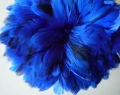 VOGUE COQUE SCHLAPPEN Cobalt, Electric Blue  /  146 - KIMONOSFeathers
