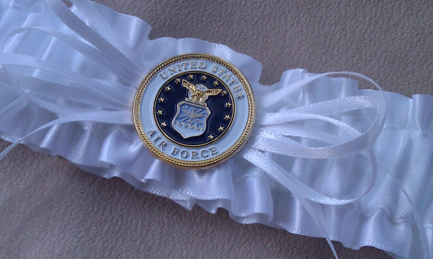 USA Air Force Bridal Wedding Garter Military Brides By