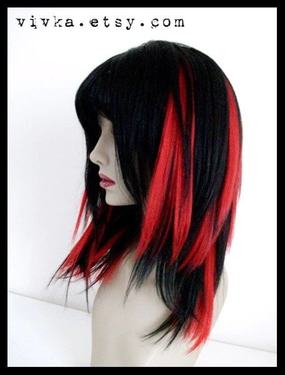 FIRE ENGINE RED FULL SET Clip In Extensions 11in Exotic By