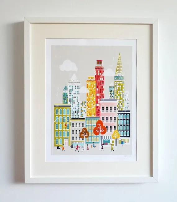 New York - Large A3 Print
