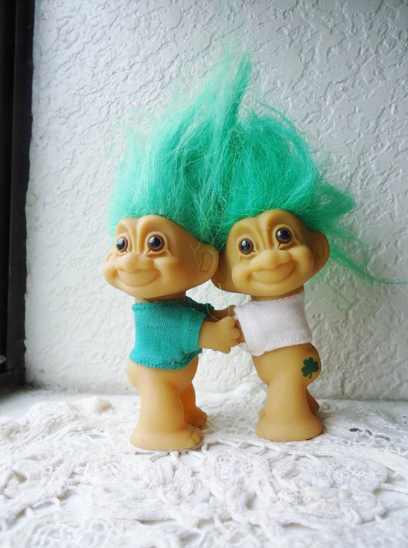 RUSS Trolls Boondock Saints Twins Irish Leprechaun Green Hair