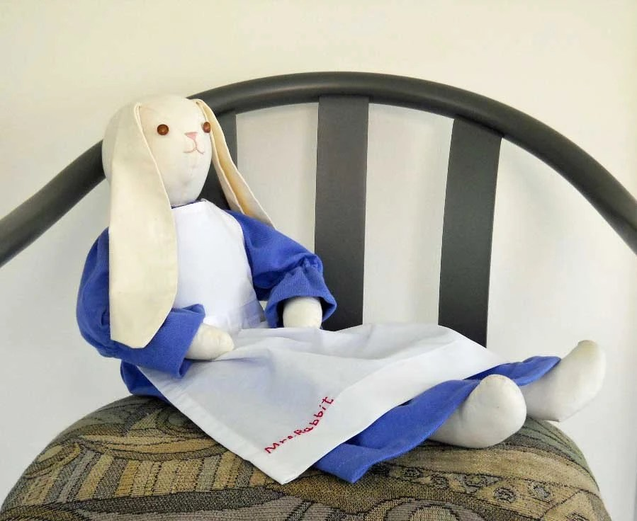 Stuffed Bunny Betsy Bunny Beatrix Potter Biggest Fan Easter Bunny - KMSORIGINAL