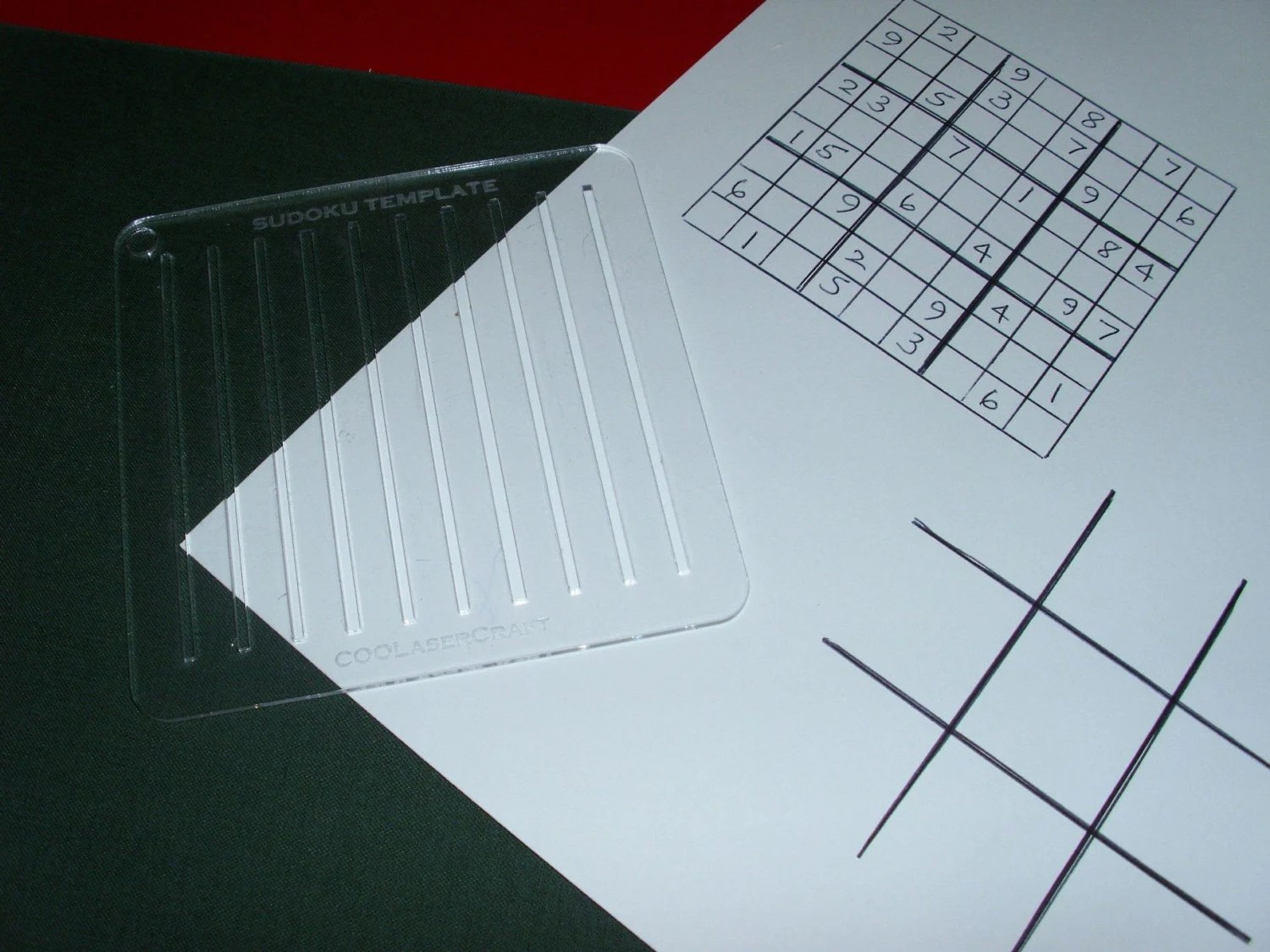 Sudoku Puzzle Grid Template Flexible Plastic By Jptreeman On Etsy
