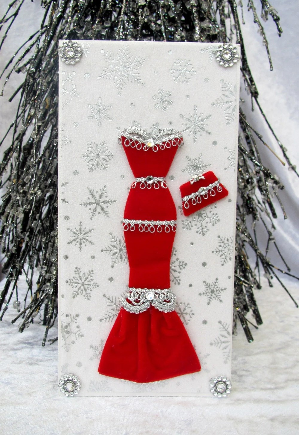Items Similar To Holly Personalised Dress Card DL Size