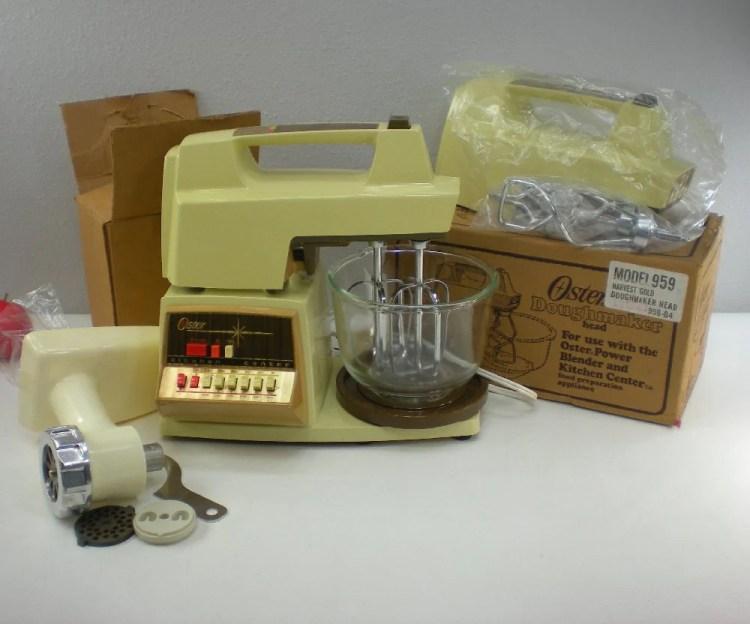 Oster Kitchen Center Spd Mixer Food Porcessor Oldetymestore