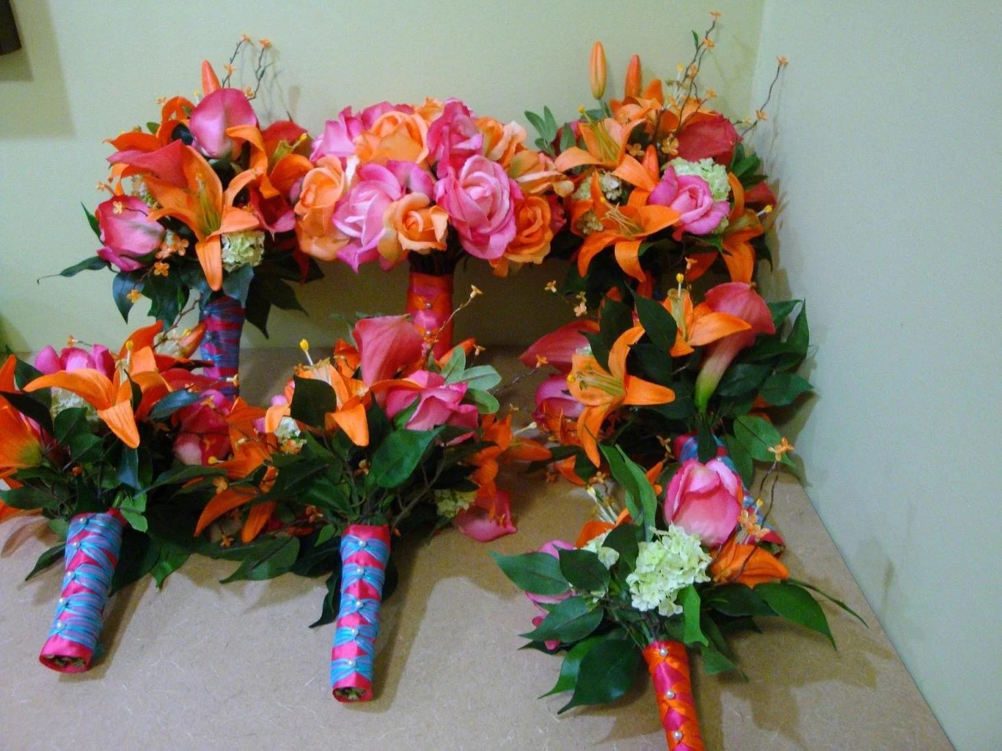 Items Similar To Real Touch And Silk Wedding Flowers