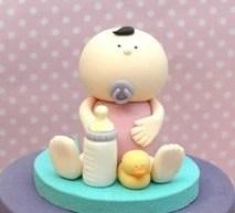 3d Fondant Baby Cake Topper Pdf Tutorial