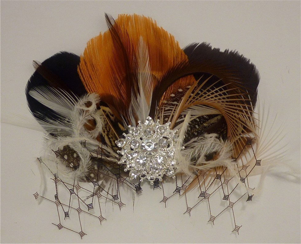 Bridesmaid Hair Accessories,  Bridal Fascinator, Feather Fascinator, Fascinator, Bridesmaid Fascinator, Bridal Headpiece, Bridesmaids