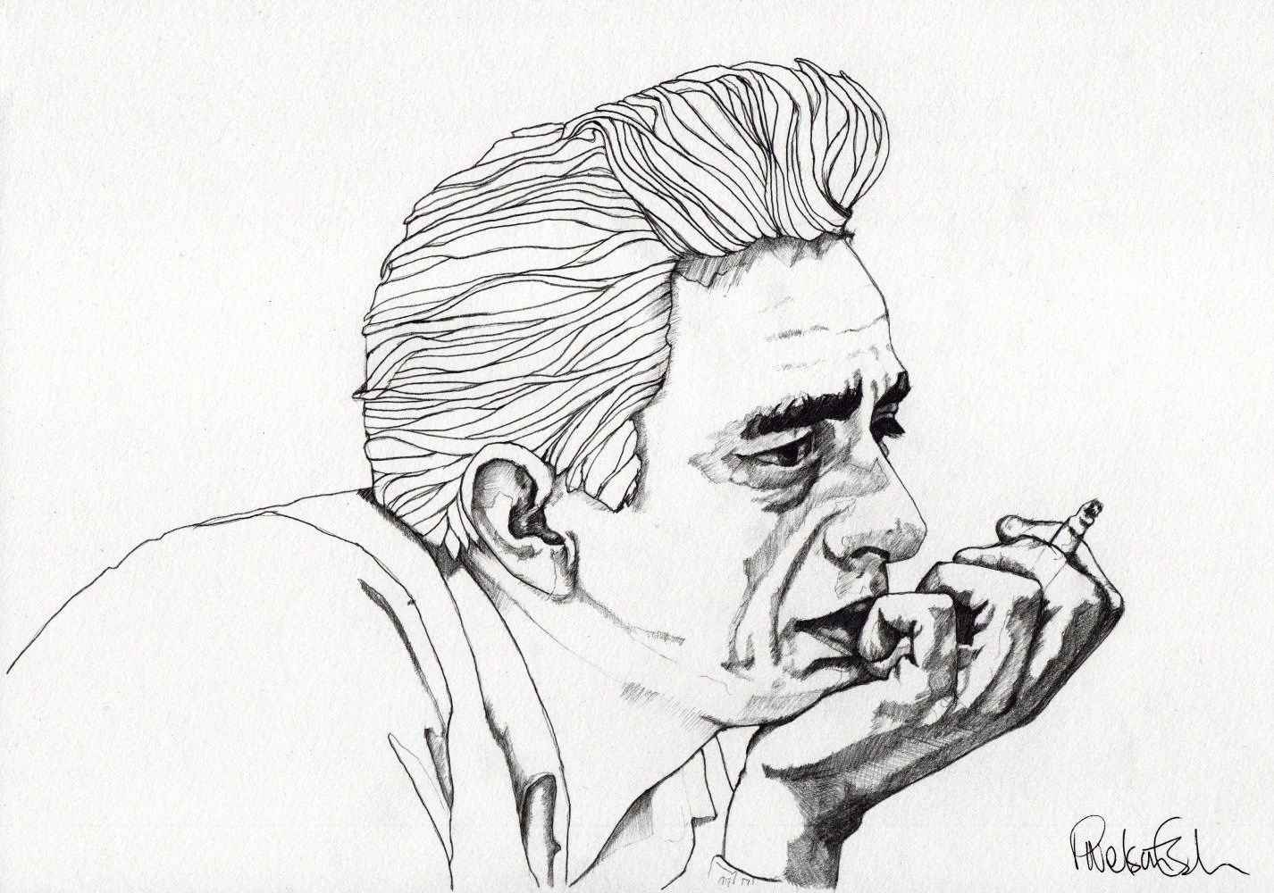 Johnny Cash Coloring Pages Coloring Pages