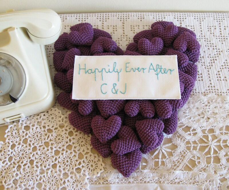 30 Purple Wedding Favors Bachelorette Favors Crochet Wedding