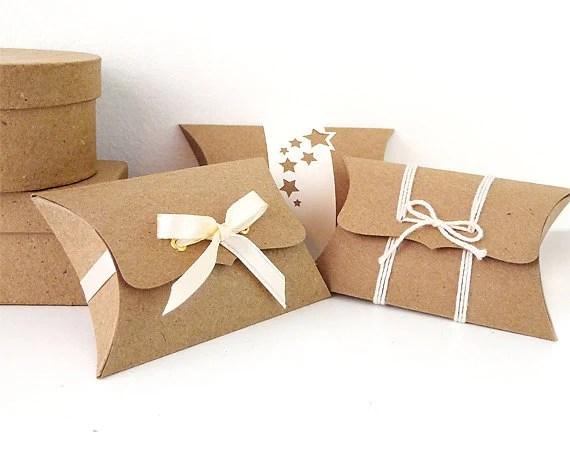 Pillow Boxes Small 12 Unique Wedding Favor Boxes DIY