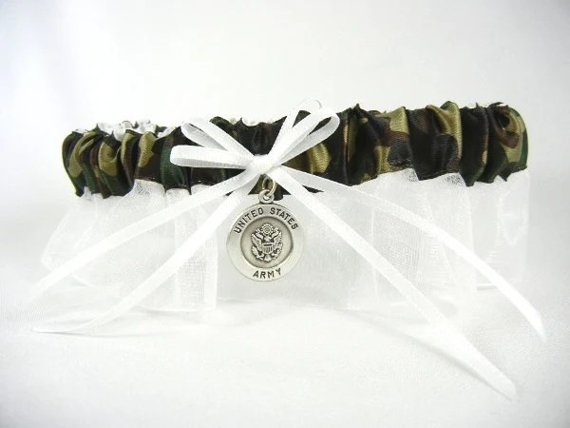 United States Army Bridal Garter