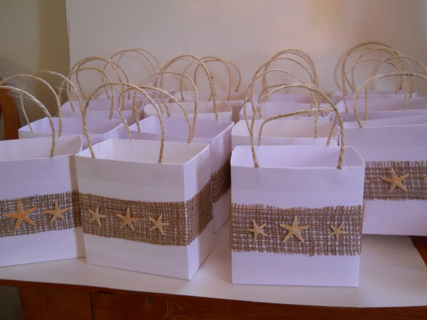 30 Beach Bridal Party Favor Bags Reserved For Kate By