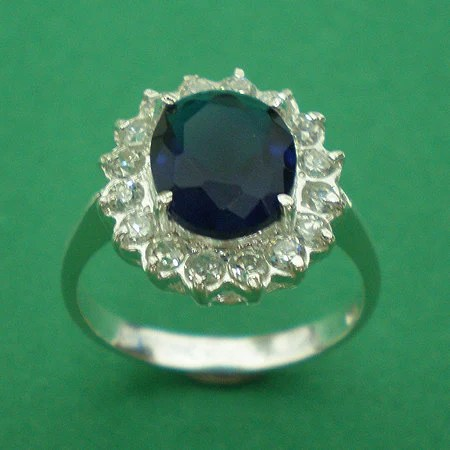 Kate Middleton Silver Engagement Ring Royal Wedding from Prince William Size Selectable US 3 -  13