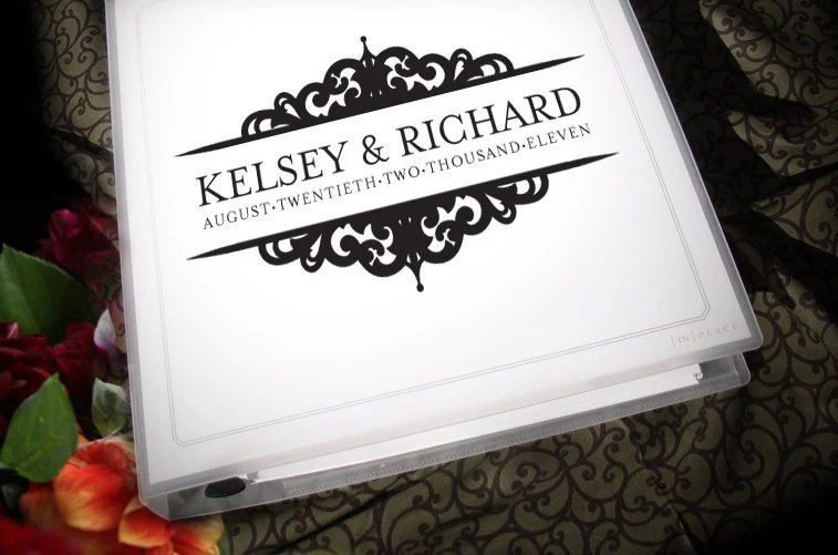 Wedding Planning Binder With Customized By Forevermorewedding