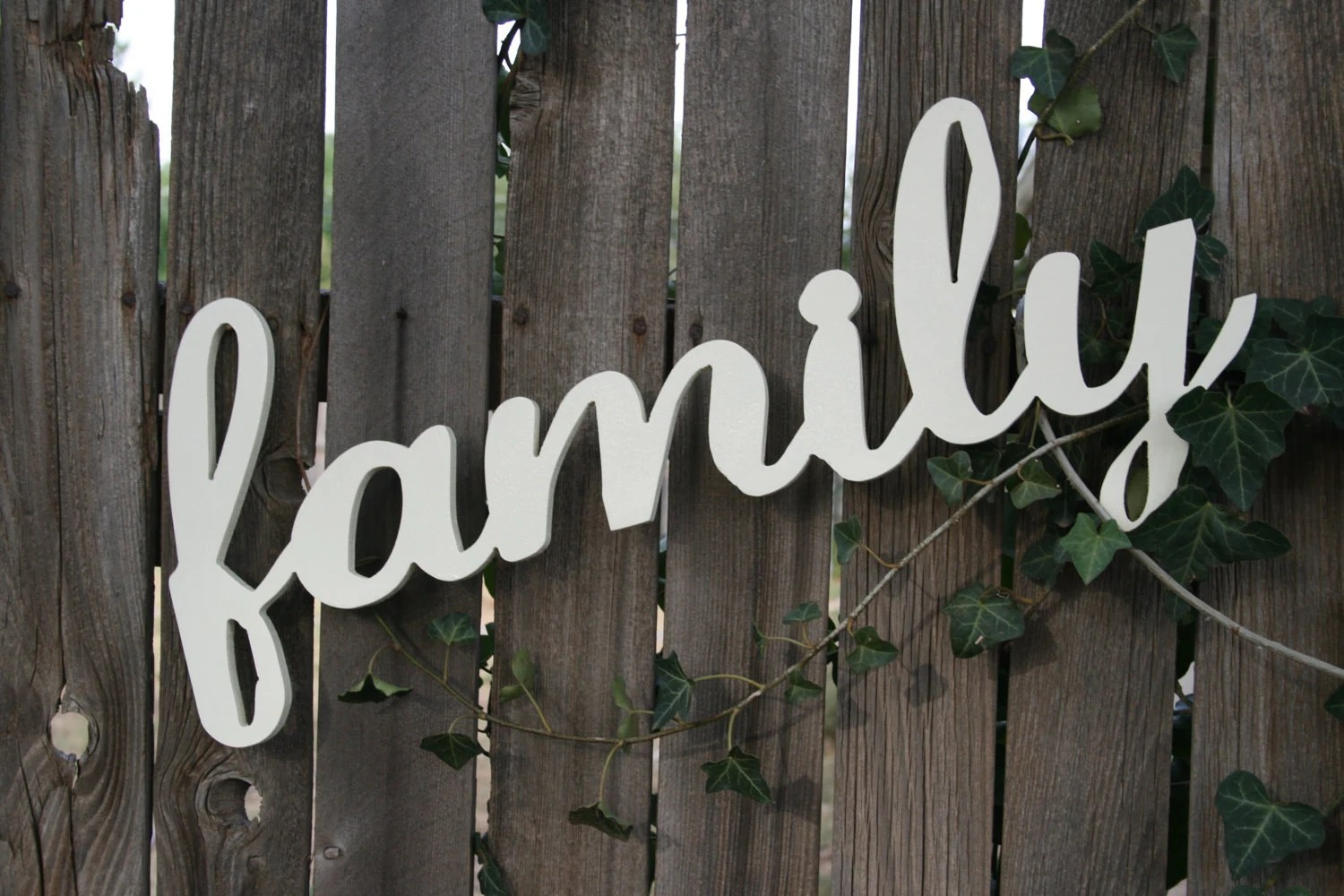 Wooden Wall Sign Family Cute Family Photo Wall By