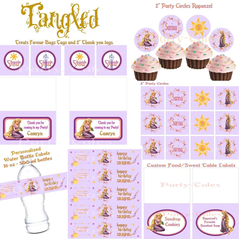 Tangled Disney Princess Rapunzel Birthday Girl By Icandyevents