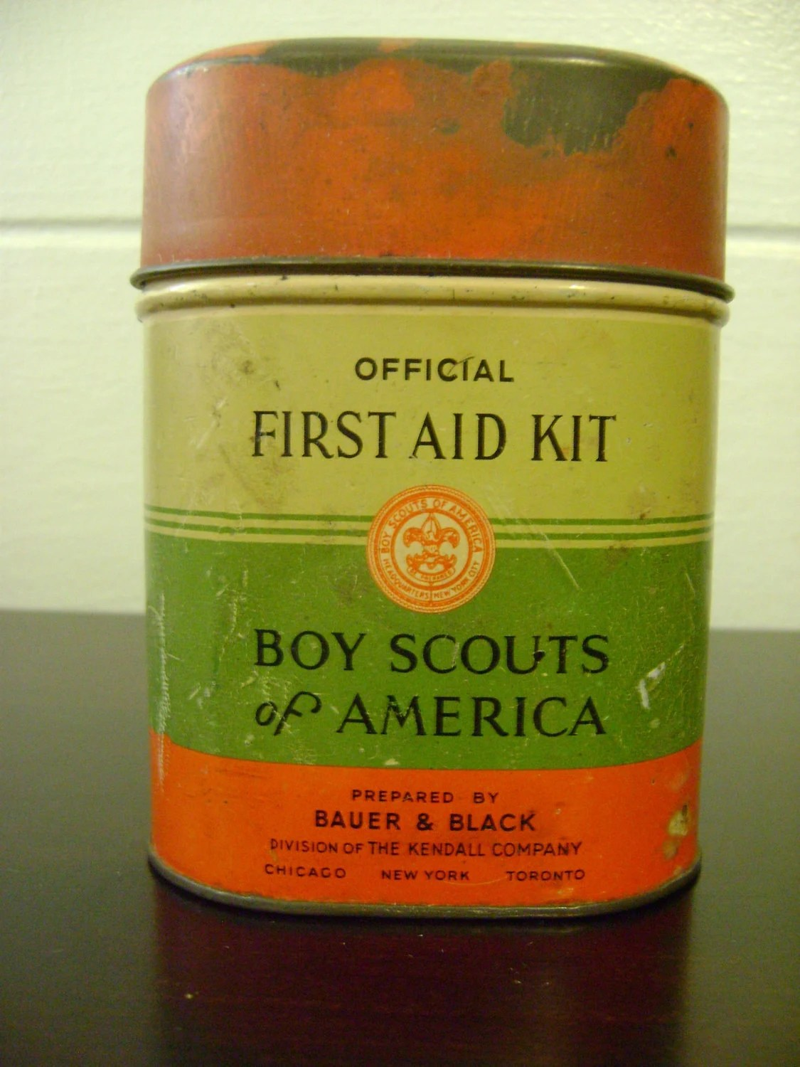 Official First Aid Kit For Boy Scouts Of America