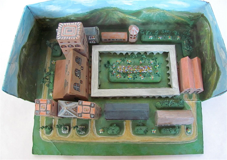 Treasury Item Middle Ages Benedictine Monastery Shoebox