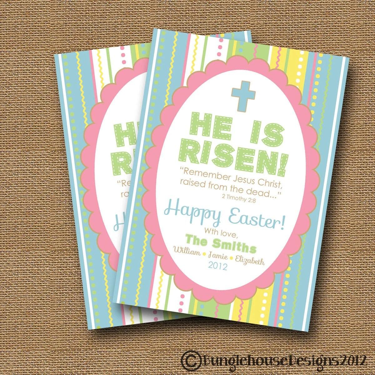 Printable Christian Easter Card Diy Printable