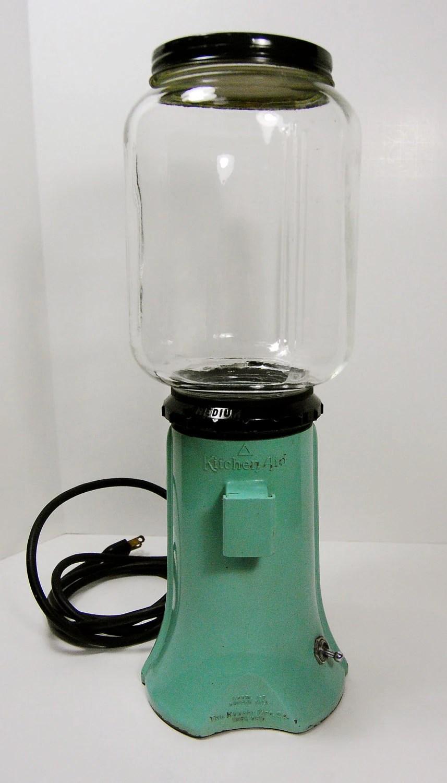 Kitchenaid A 9 Electric Burr Coffee Grinder Rare Mint Green