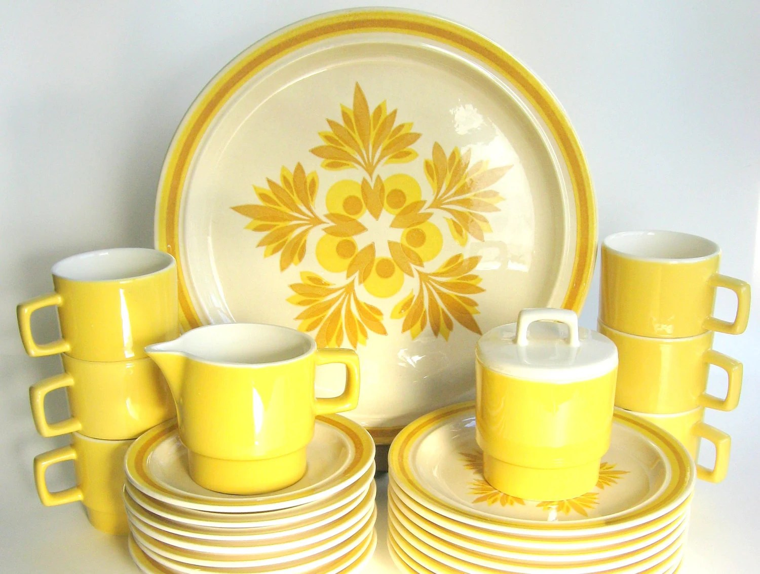 Reserved For C Vintage 1970s Royal China Dinnerware Set 26