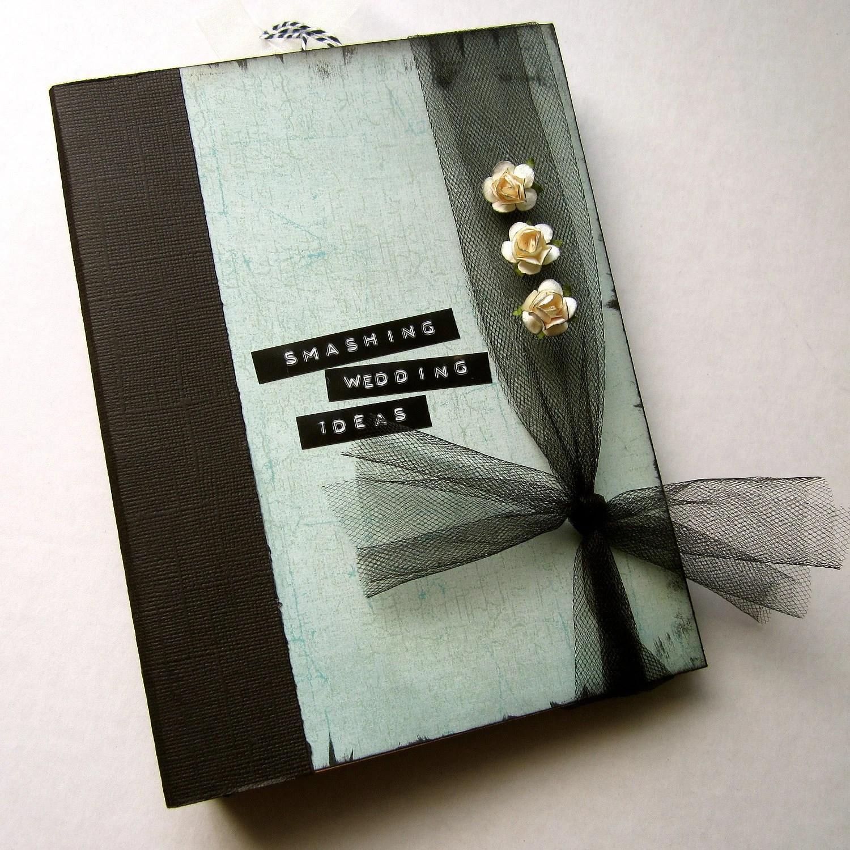 Wedding Memory Book Smash Book Planner Organizer Binder
