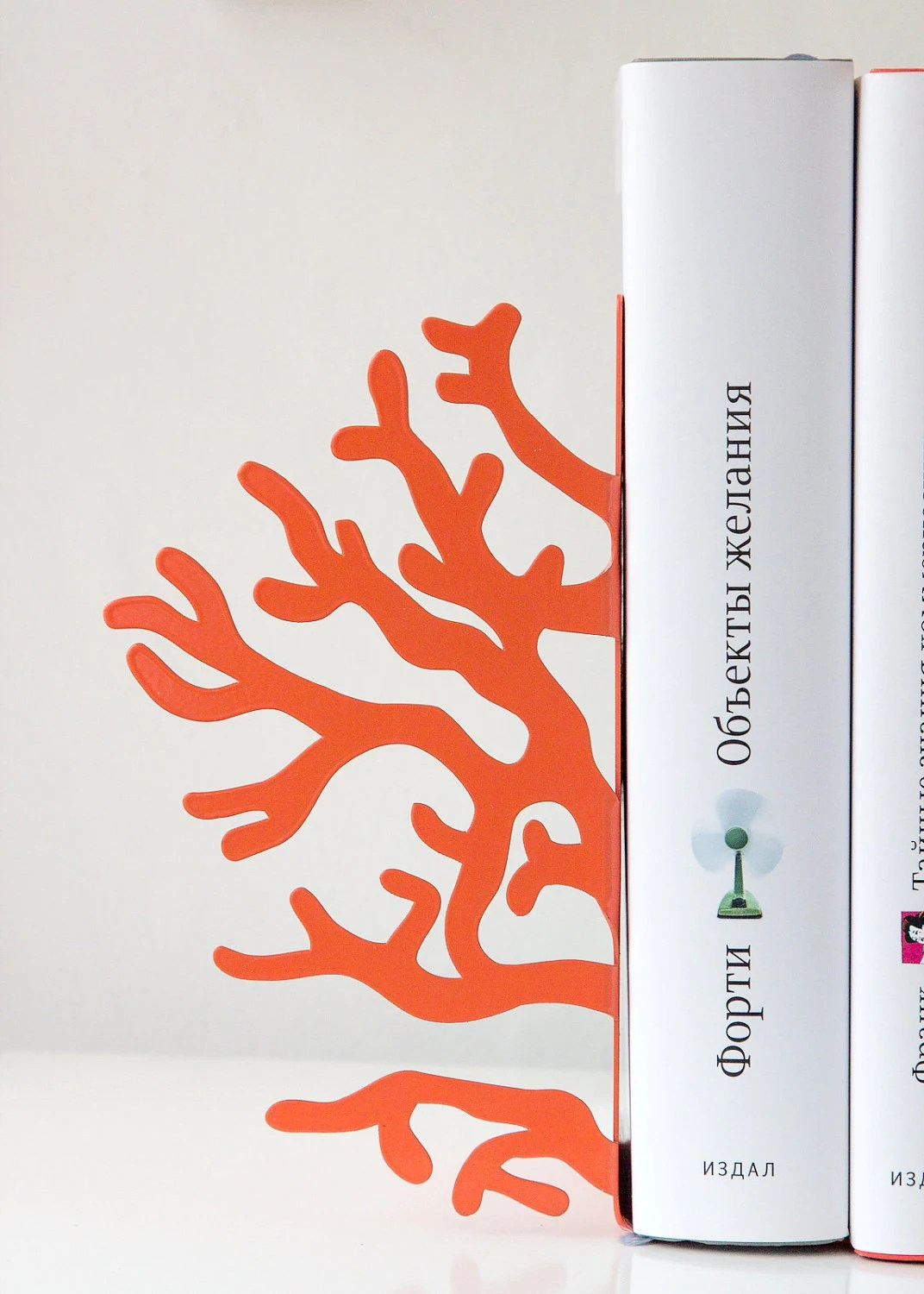 Bookends -Corals- unique, stylish and useful decor bookends