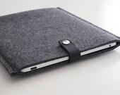 Housse iPad mini en Feutre et Cuir