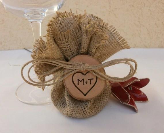 Items Similar To Wedding Burlap Favor Bags Bridal Shower