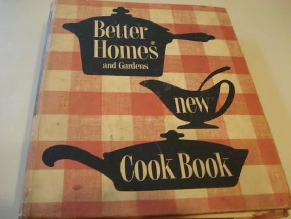 Vintage Better Homes And Garden Cookbook