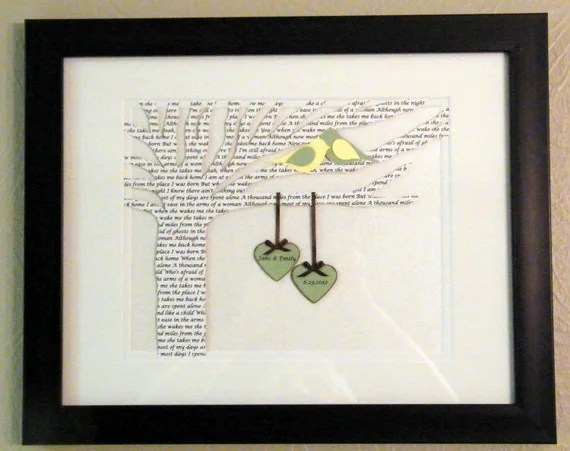 Items Similar To Personalized Wedding Or Anniversary Gift