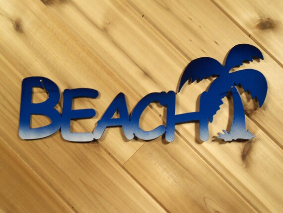Items Similar To Beach With Palm Tree