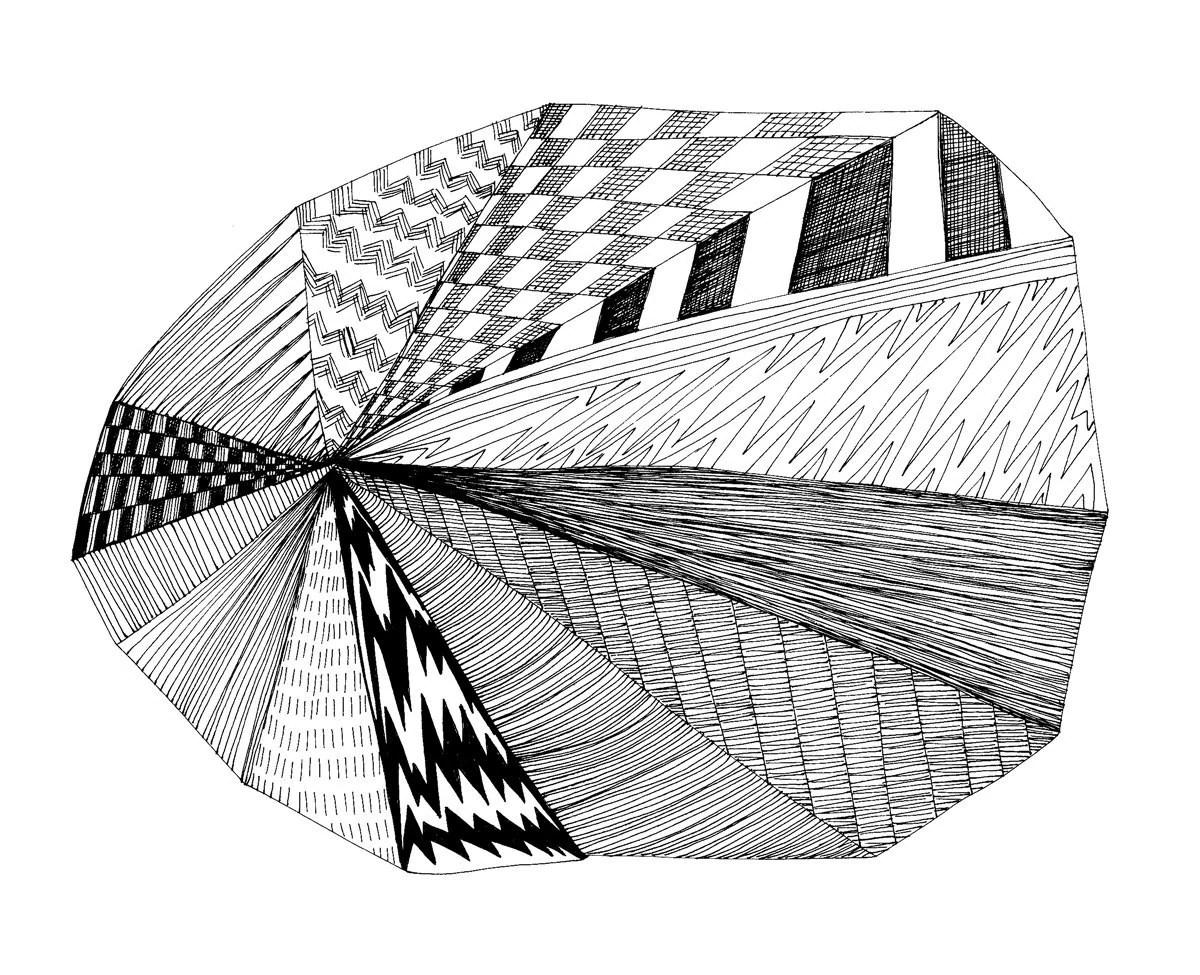 Pie Chart 8x10 Abstract Fine Art Print Of By Virginiakraljevic