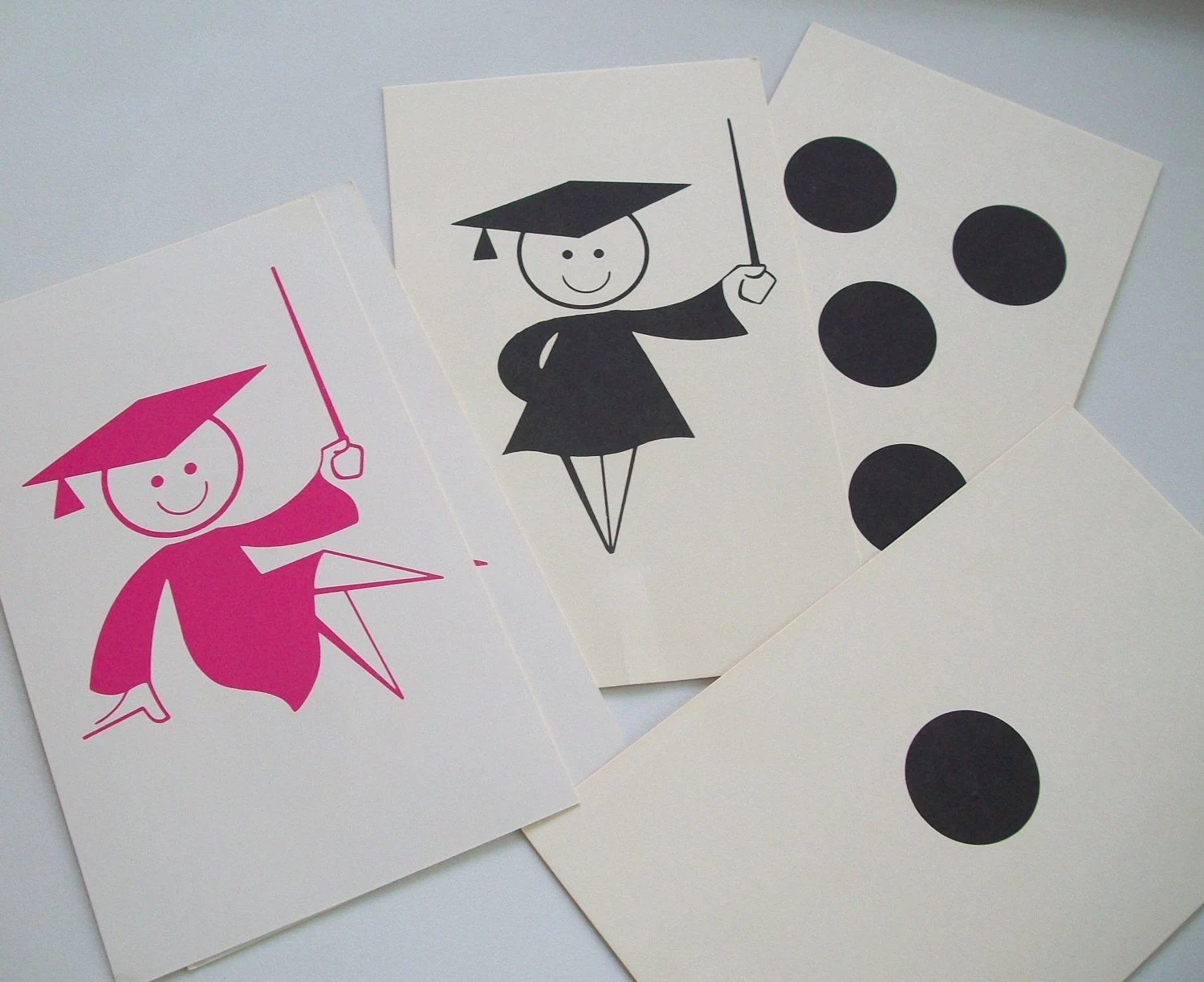 Vintage Flash Card Setcounting And By Acadiancrochet On Etsy