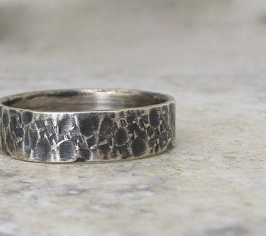 Wedding Bands Hammered Wedding Bands
