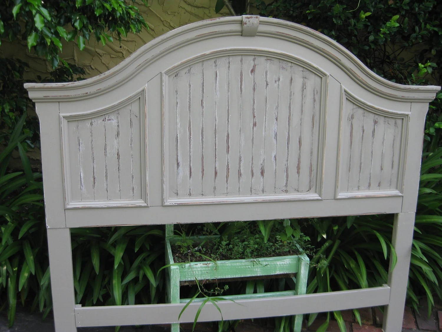 Shabby Chic Queen Headboard By Shabby2chic On Etsy