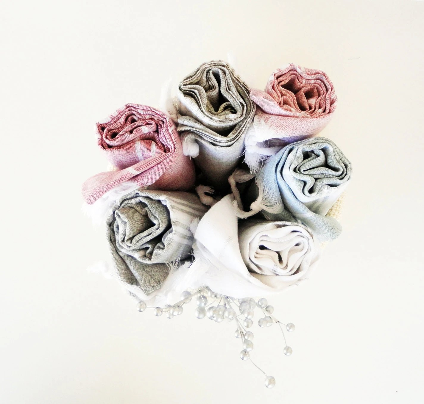 Fast Shipping..Set of 6 PESHTEMALS,Super Light and Absorbent Natural Cotton,Eco Friendly ,High Quality Bath,Beach,Spa,Yoga,Pool Towel - loovee