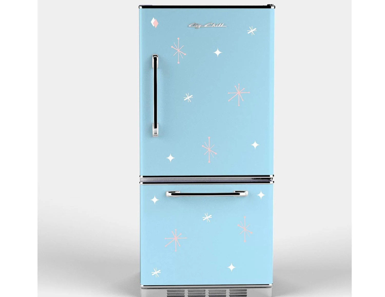 Retro Stars Appliance Decals For Your Refrigerator By GoodMommyLtd