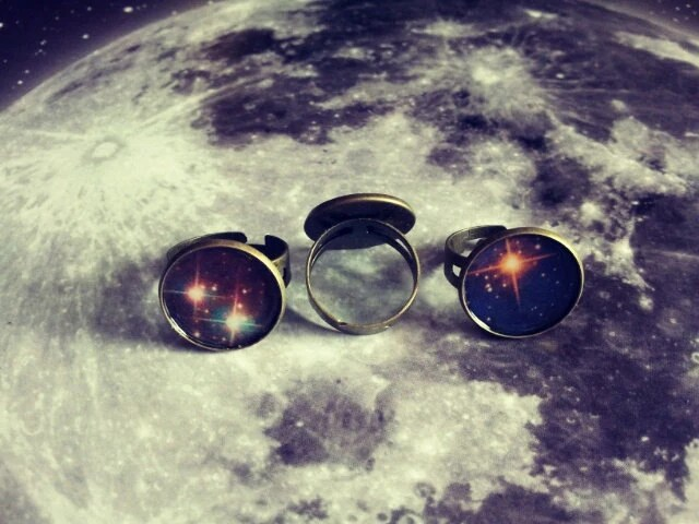 Round galaxy and nebula rings - LillyMooncat