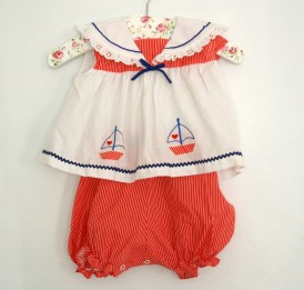 nautical romper